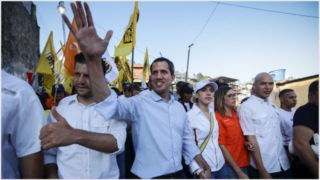 Imagen: Juan Guaidó decidió abandonar el diálogo con Nicolás Maduro, 15 de septiembre de 2019 (EFE)