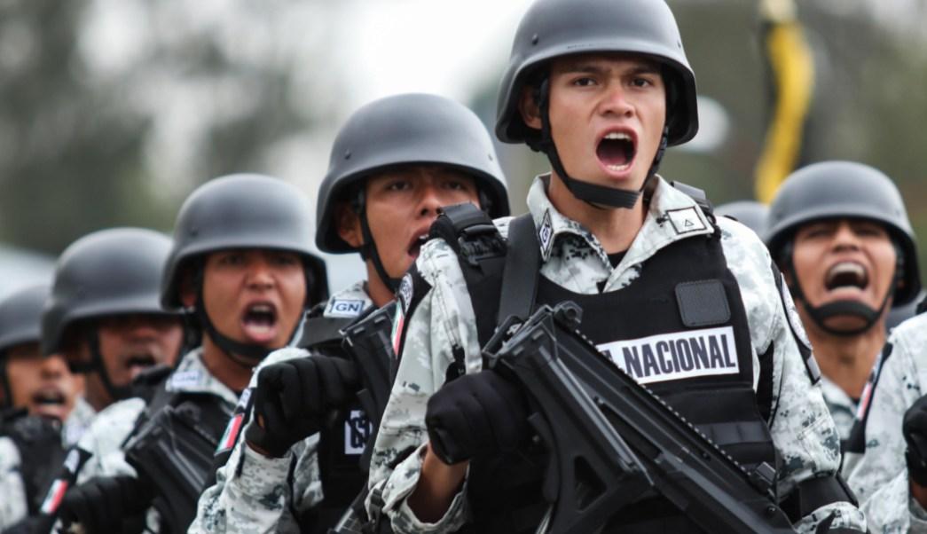 Foto: La Guardia Nacional debutará en el desfile militar del 209 aniversario del inicio de la Independencia de México, 14 septiembre 2019