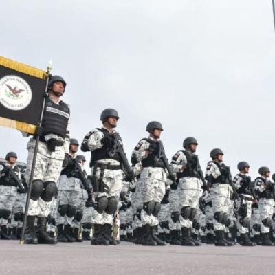 Por primera vez, Guardia Nacional participa en desfile militar 2019