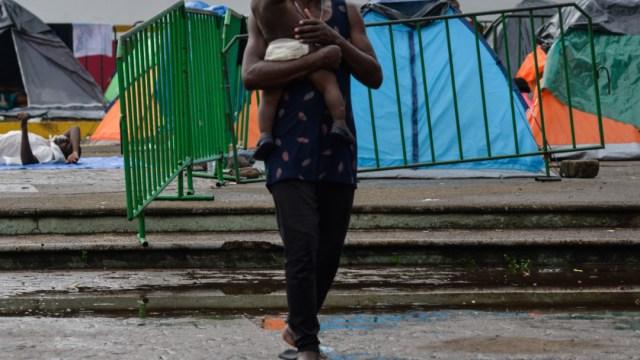 FOTO Hijo de migrantes africanos es nombrado Andrés Manuel López Obrador; en la foto, el campamento de migrantes en Tapachula (FOTO ilustrativa/Isabel Mateos/Cuartoscuro)