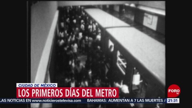 Foto: Imágenes Primeros Días Metro Ciudad De México 3 Septiembre 2019