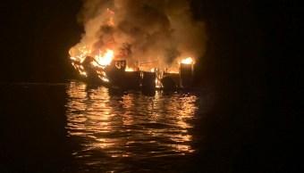 Foto: Incendio barco California, 2 de septiembre de 2019, Estados Unidos