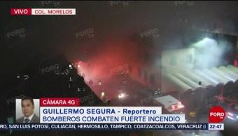 Foto: Incendio Colonia Morelos Controlado 80 Por Ciento 9 Septiembre 2019