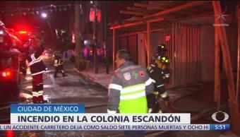 Incendios movilizan a servicios de emergencia en CDMX