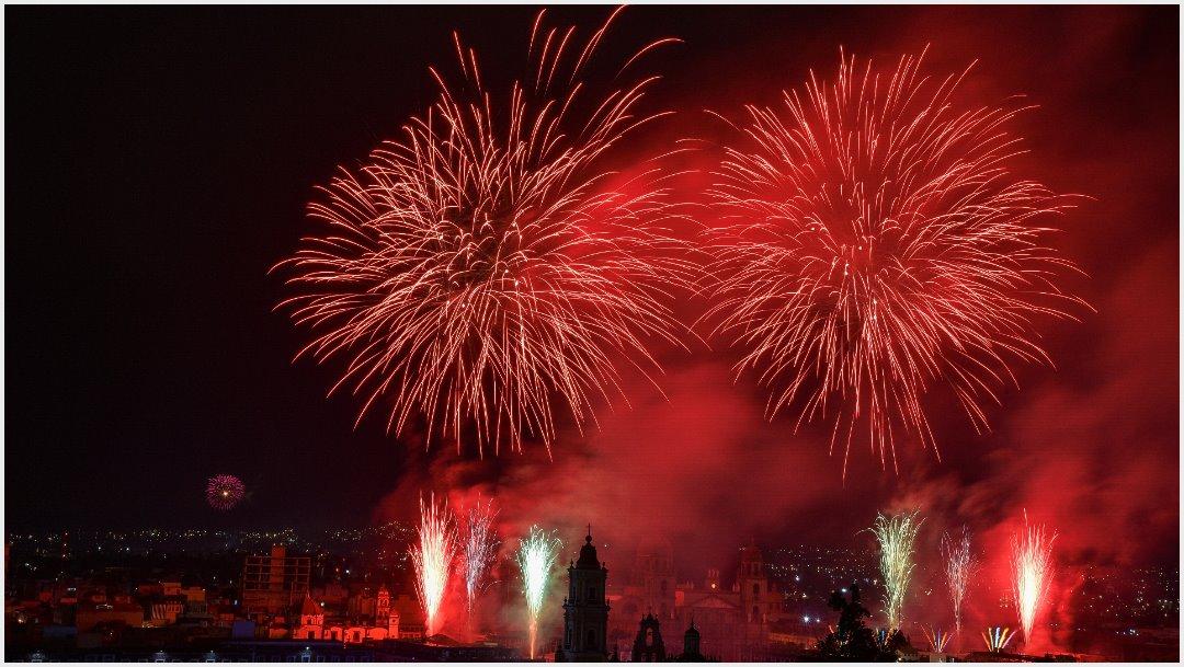 Foto: La ciudad de Toluca celebró el Grito de Independencia, 15 de septiembre de 2019 ( CRISANTA ESPINOSA AGUILAR /CUARTOSCURO.COM)