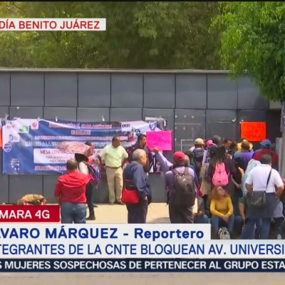 Integrantes de la CNTE bloquean oficinas de la SEP