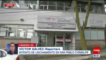 Intento de linchamiento en Chimalpa, Cuajimalpa, deja cuatro policías lesionados