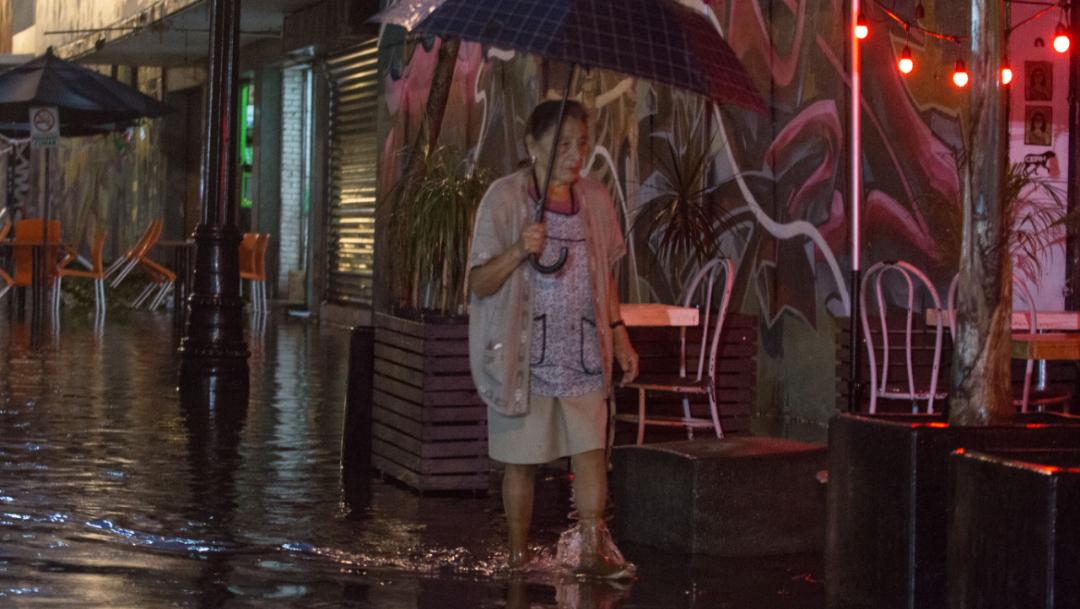 Foto: Las fuertes lluvias que se registraron en la CDMX provocaron inundaciones en la zona Centro, 19 septiembre 2019