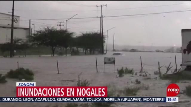Foto: Inundaciones Nogales Sonora 2 Septiembre 2019