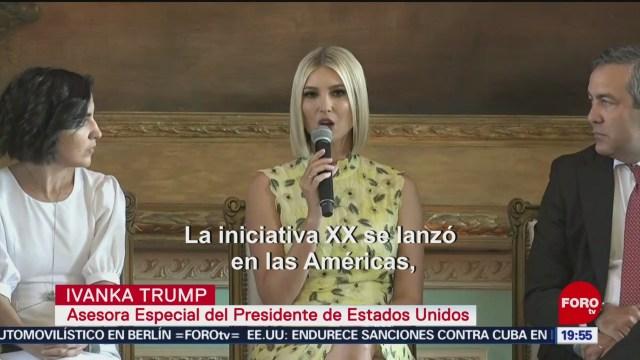 Foto: Ivanka Trump Impulsa Emprendimiento Mujeres Latinoamericanas 6 Septiembre 2019