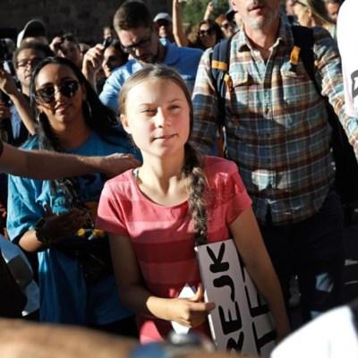Jóvenes exigen medidas contra el cambio climático en la ONU