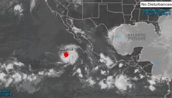 Foto 'Juliette' se convierte en huracán categoría 3 en el Pacífico 3 septiembre 2019