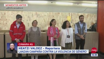 Lanzan campaña contra la violencia de género en la CDMX