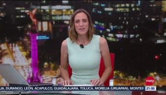 Foto: Las Noticias Ana Francisca Vega Programa Completo 20 Septiembre 2019