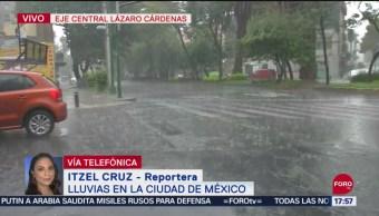 FOTO: Llueve en la CDMX, 16 septiembre 2019