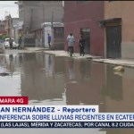 Foto: Lluvias Ecatepec Inundaciones Hoy Miércoles 25 Septiembre 2019
