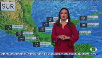 FOTO: Lluvias intensas para Veracruz, Oaxaca y Chiapas, 16 septiembre 2019