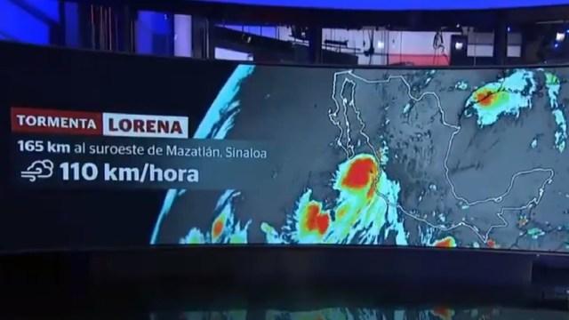 Suspenden clases y actividades en Sinaloa por 'Lorena'