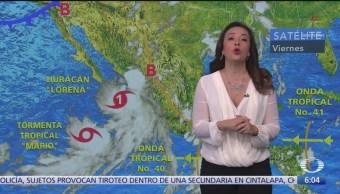 'Lorena' provocará lluvias en 19 regiones de México