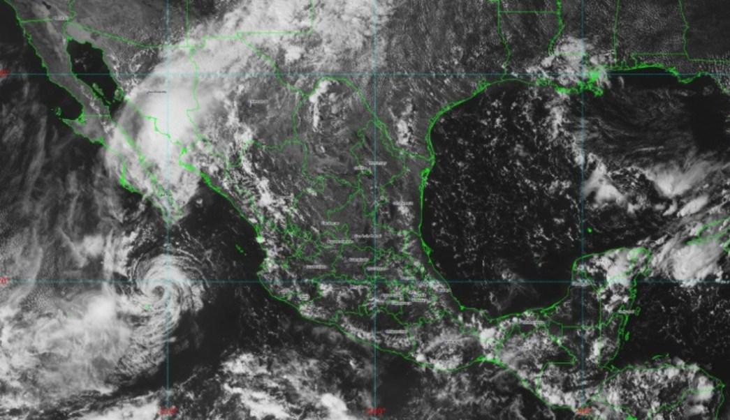 Foto: La Conagua añadió que en las zonas de Yucatán y Quintana Roo se desarrollan esta tarde lluvias fuertes con descargas eléctricas, 21 de septiembre de 2019 (Twitter @conagua_clima)