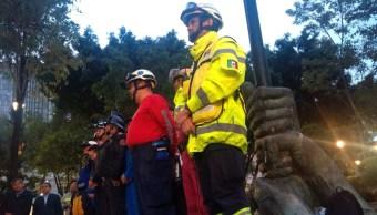 FOTO Macrosimulacro 2019 inicia, se activa alerta sísmica en CDMX (S. Servín)