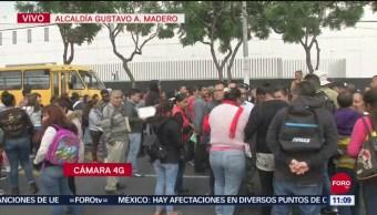 Manifestantes bloquean San Juan de Aragón en la GAM