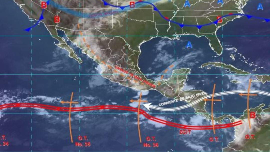 Foto: Imagen de fenómenos meteorológicos significativos de las 06:00 horas, 8 septiembre 2019