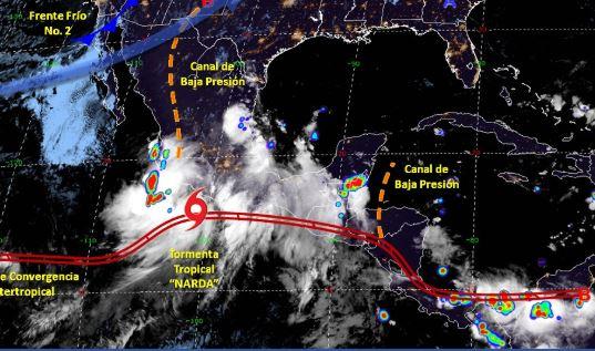 Foto: Imagen de fenómenos meteorológicos significativos de las 06:00 horas, 21 septiembre 2019