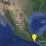 Foto: Mapa de sismo en Oaxaca, 13 de septiembre de 2019