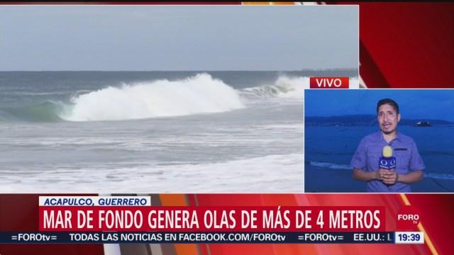 Foto: Mar De Fondo Genera Alto Oleaje Acapulco 27 Septiembre 2019