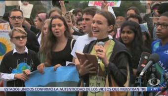 Marcharán jóvenes para crear conciencia sobre cambio climático