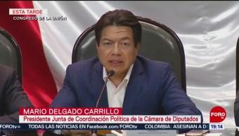 FOTO: Mario Delgado califica como responsable Paquete Económico 2020, 8 septiembre 2019