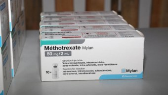 México recibe el Metotrexato que se importó de Francia.