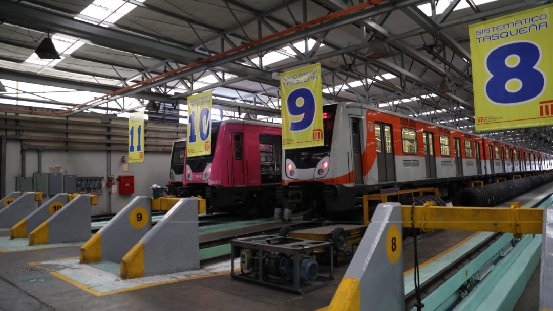 FOTO Metro CDMX cumple 50 años de servicio (EFE)