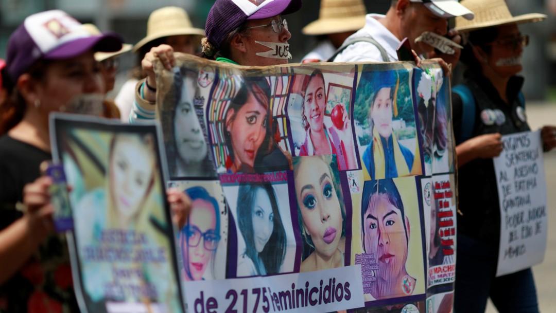 Foto: Marcha contra feminicidios en México, 8 de septiembre de 2019, Ciudad de México