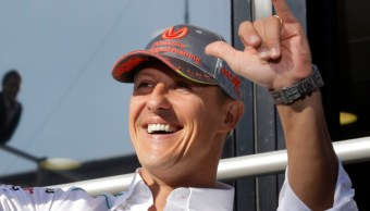 FOTO Michael Schumacher, consciente tras terapia con células madre, según prensa europea (AP, archivo)
