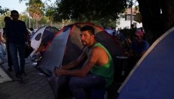 Foto: Migrante nicaragüense en Matamoros, 30 de agosto de 2019