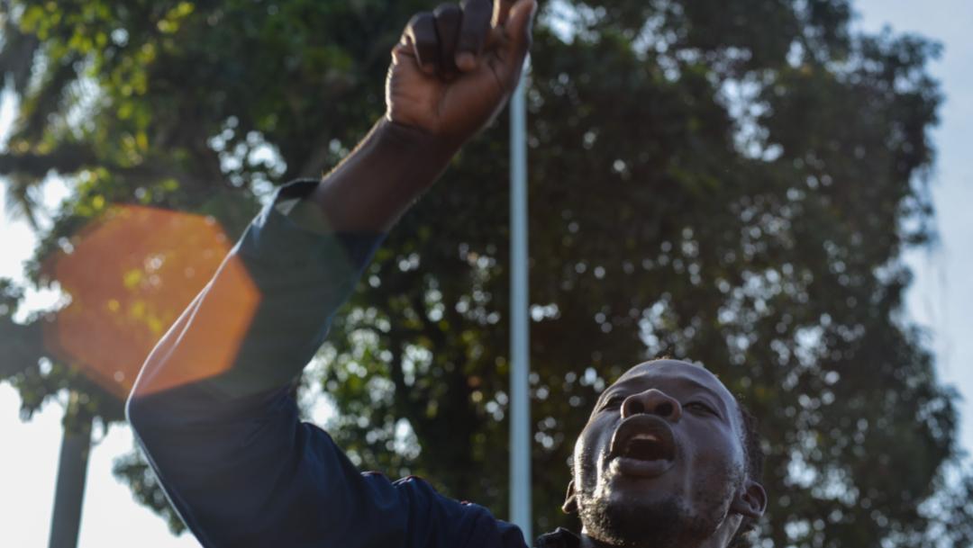 Foto: Algunos migrantes manifestaron temor a represalias de terceras personas por acercarse al INM para solicitar información, de las cuales no refieren identidad alguna, 4 de septiembre de 2019 (Isabel Mateos /Cuartoscuro.com)