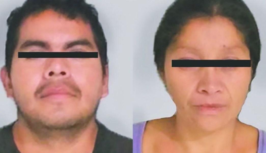 Juan 'N' y Patricia 'N', conocidos como 'Los Monstruos de Ecatepec'. FGJEM