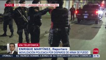 Movilización policiaca por tiroteo en el Centro de la CDMX