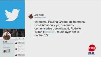 Muere Alfredo Turián, exsubsecretario de Educación Superior de la SEP