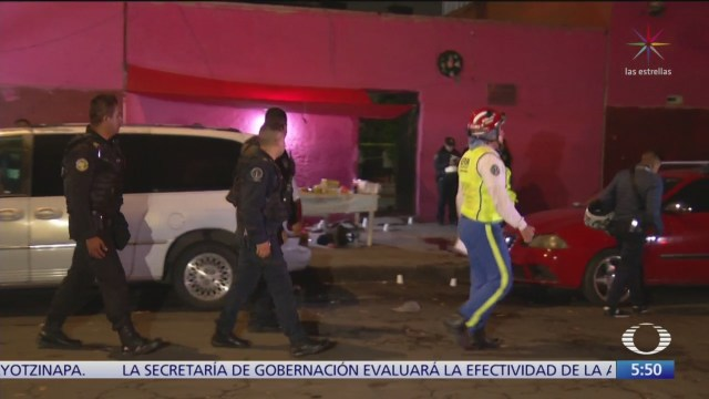 Mueren siete personas durante balaceras en CDMX