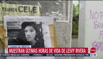 Foto: Muestran Videos Últimas Horas Vida Lesvy Rivera 10 Septiembre 2019