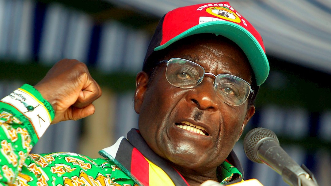 Foto: El expresidente de Zimbabue Robert Mugabe.