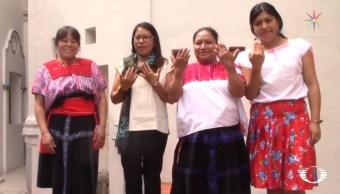 Indígenas chiapanecas se gradúan como ingenieras solares en India