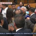 FOTO: Olga Sánchez Cordero habla sobre conflicto en el Congreso, 1 septiembre 2019