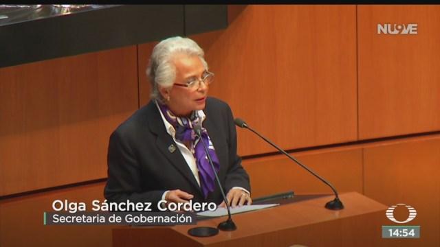 FOTO: Olga Sánchez Refrenda Compromiso Caso Ayotzinapa