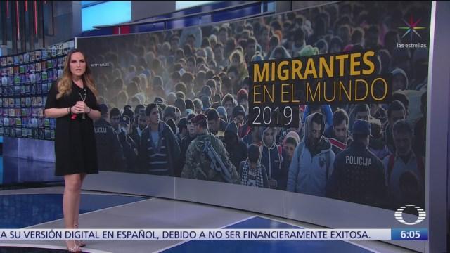 ONU revela que número de migrantes en el mundo alcanzó los 272 millones