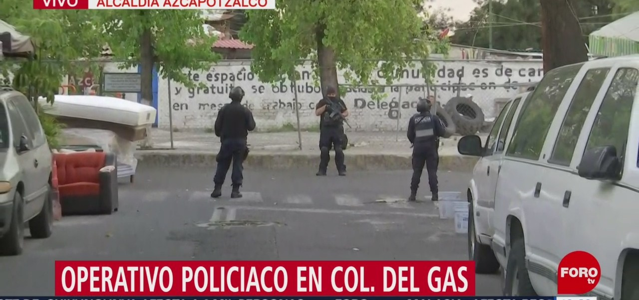 Foto: Operativo Policíaco Asunto Drogas CDMX 3 Septiembre 2019
