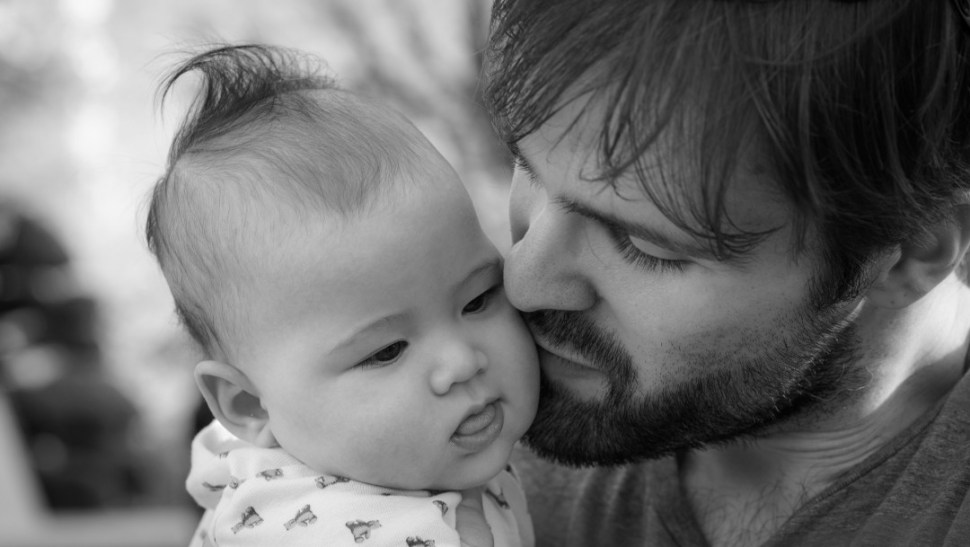 Foto: Padre con bebé